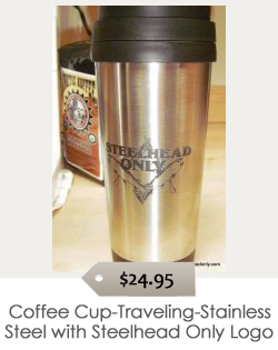 Coffee_Cup-Traveling-Stainless_Steel_w_Steelhead_Only_Logo