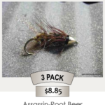 3pack_Assassin-Root_Beer_Steelhead_Fly
